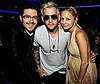 Slide Photo of Danny Gokey, Nicole Richie and Joel Madden at the American Idol Finale