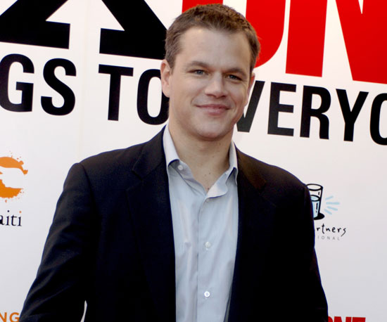 8. Matt Damon