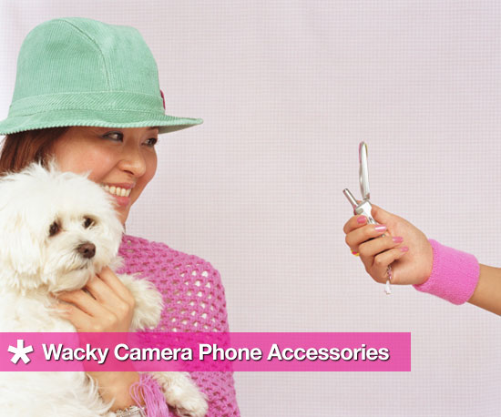 Wonderfully Wacky Camera Phone Accessories