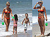 Kate and Kids on Bikini Vacation