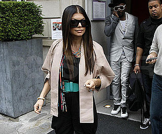 Photo Slide of Fergie Leaving Her Paris Hotel