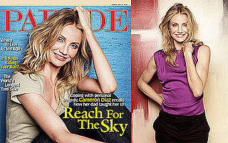 Photos and Quotes from Cameron Diaz Parade Magazine 2009