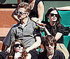 Photo Slide of Rachel Bilson and Hayden Christensen at the French Open
