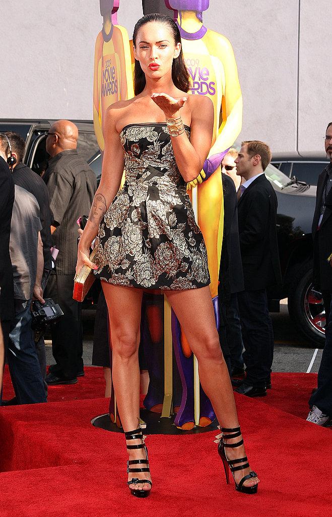 MTV Movie Awards Red Carpet Girls
