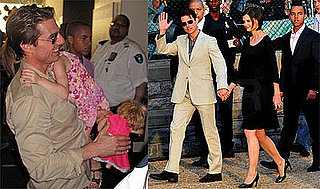 Photos of Tom Cruise, Suri Cruise, Connor Cruise, Katie Holmes in DC