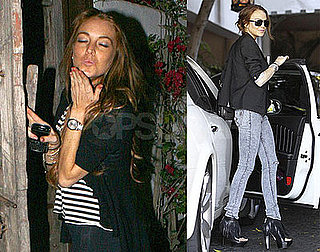 Photos of Lindsay Lohan Looking Happy in LA