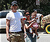 Photo Slide of Halle Berry, Gabriel Aubry and Nahla Aubry Out Hiking in LA