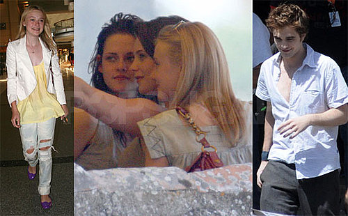 Photos of Robert Pattinson, Kristen Stewart, Ashley Greene, Dakota Fanning in Italy