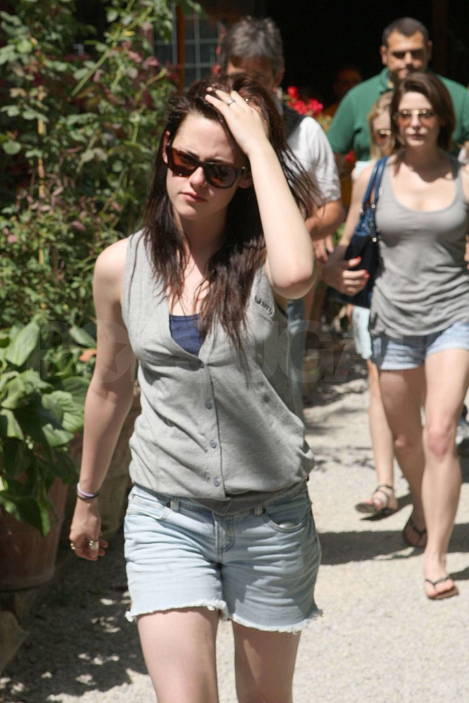 Dakota, Robert, Kristen in Italy