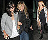 Photos of Nicole Richie, Jennifer Aniston, Courteney Cox, David Arquette at Fleetwood Mac Concert
