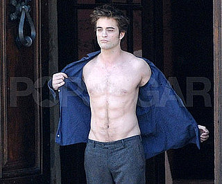 Condensed Sugar: Pattinson Takes His Shirt Off and the Crowd Goes Wild