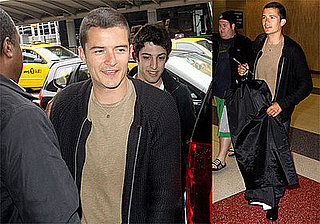 Photos of Orlando Bloom at JFK
