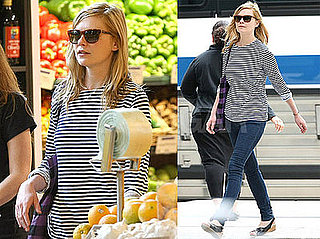 Photos of Kirsten Dunst at a Whole Foods in NYC