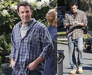 Photos of Ben Affleck Filming The Company Men in Boston