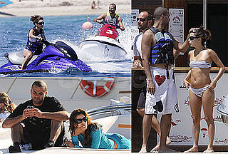 Bikini Photos of Eva Longoria in St. Tropez With Tony Parker