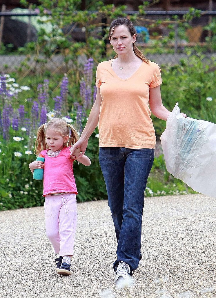 Jen and Violet Walk the Park