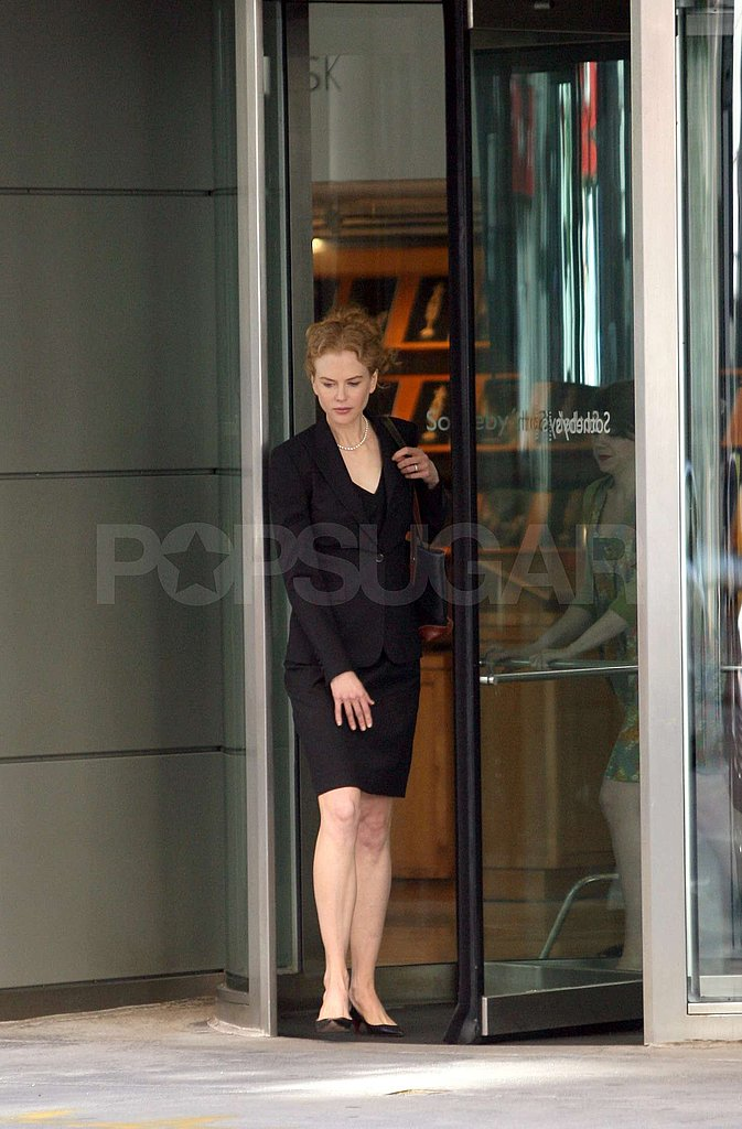 Nicole Kidman on Set