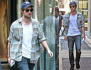 Photos of Twilight's Robert Pattinson in NYC
