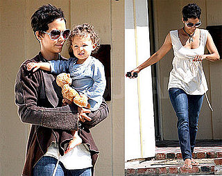 Photos of Halle Berry and Nahla Aubry in LA 2009-06-02 04:00:00