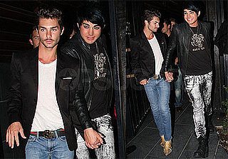 Photos of Adam Lambert Holding Hands With Drake LaBry
