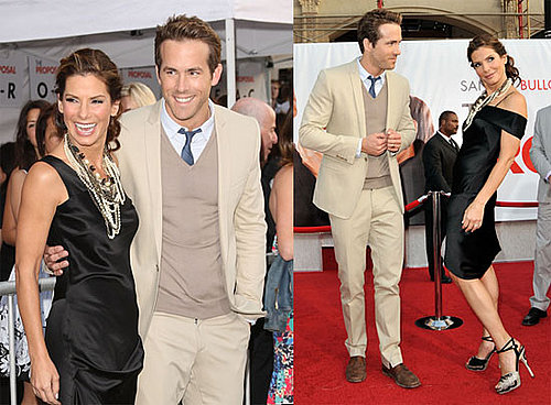 Photos of Ryan Reynolds and Sandra Bullock at the LA Premiere of The Proposal