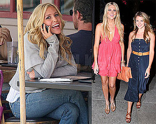 Photos of Lo Bosworth, Kristin Cavallari, Stephanie Pratt Filming The Hills