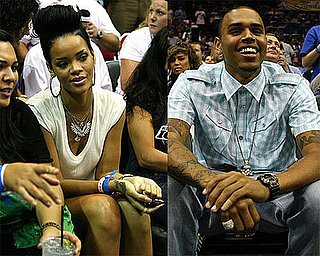 Photos of Rihanna and Chris Brown at NBA Finals in Orlando
