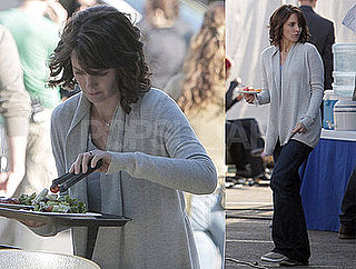 Photos of Time Magazine's Powerful Person Tina Fey Filming Date Night in LA