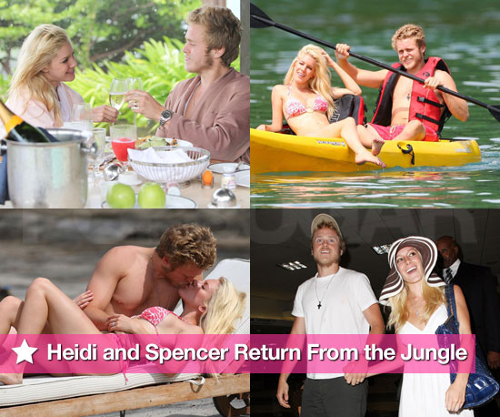 Slideshow of Heidi Montag Bikini Photos With Spencer Pratt in Costa Rica