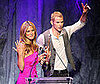 Photo Slide of Bar Refaeli and Kellan Lutz at Hollywood Life's 11th Annual Young Hollywood Awards