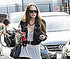 Photo Slide of Lindsay Lohan Leaving a Studio in LA