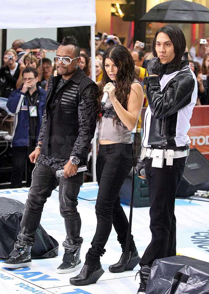 Fergie and BEP's on The Today Show