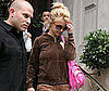 Photo Slide of Britney Spears Leaving Her London Hotel