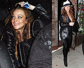 Photos of Lindsay Lohan at Nobu in LA