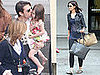 Katie, Tom and Suri