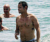 Photo of Shirtless Justin Chambers in Hawaii