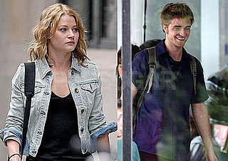 Photos of Robert Pattinson and Emilie de Ravin Filming Remember Me in NYC 2009-06-16 11:00:11