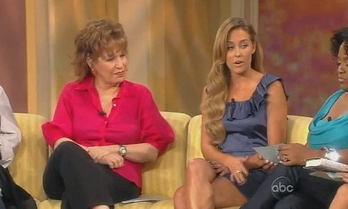 Video of Lauren Conrad Talking on The View About Spencer's Staged Apology on The Hills