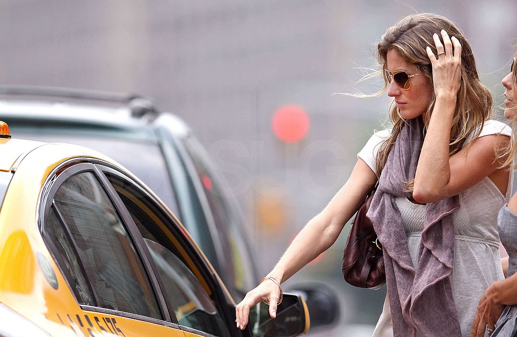 Gisele All Over New York