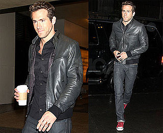 Photos of The Proposal's Ryan Reynolds Heading to It's On With Alexa Chung in NYC