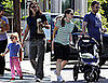 Jen, Ben, and Violet Take a Stroll 