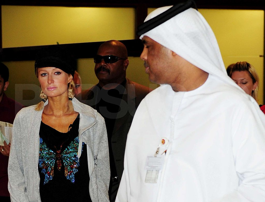 Paris Hilton in Dubai