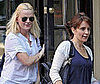 Photo Slide of Tina Fey and Amy Poehler Leaving Lunch in NYC