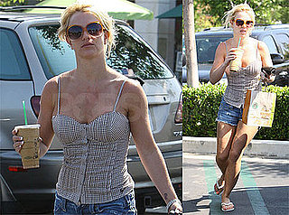Photos of Britney Spears with Starbucks in LA, Trespasser Plead Not Guilty