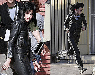 Photos of Kristen Stewart in Leather Playing Joan Jett in The Runaways