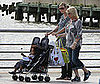 Photo Slide of Pregnant Heidi Klum with Her Family in NYC