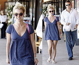 Photos of Britney Spears at Health Nut in LA