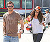 Photo Slide of Megan Fox and Brian Austin Green Out to Coffee in LA