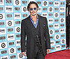 Photo Slide of Johnny Depp at the LA Premiere of Public Enemies