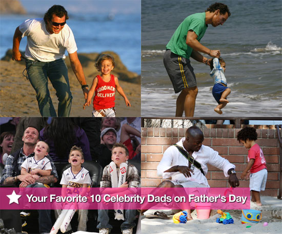 Your Favorite 10 Celebrity Dads on Father's Day